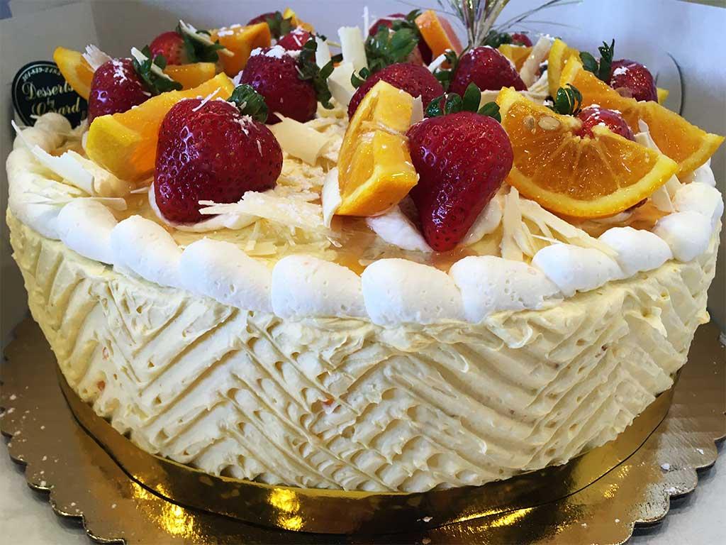 Grand Marnier Buttercream Cake - dessertsbygerard.com