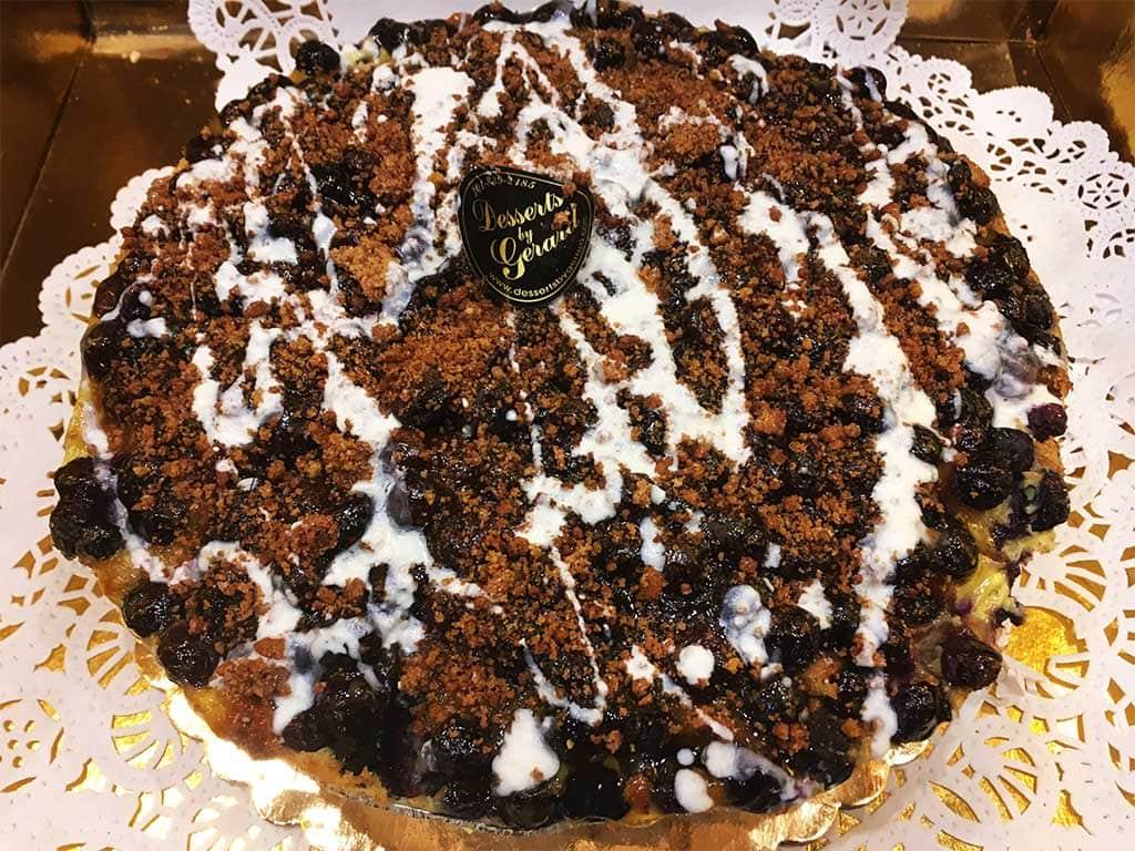 Blueberry Cobbler - dessertsbygerard.com