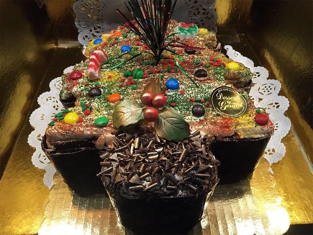 Christmas Tree Cake - dessertsbygerard.com