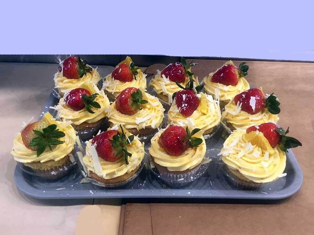 Grand Marnier Cupcakes - dessertsbygerard.com