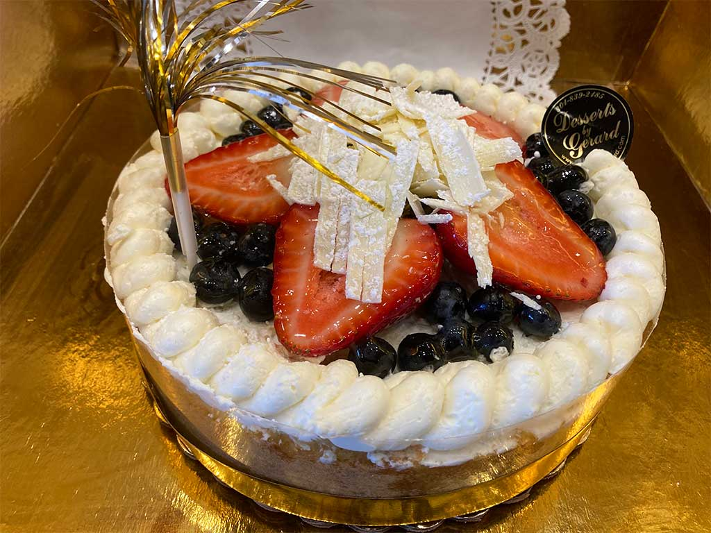 Buttercream Sponge Cake - dessertsbygerard.com