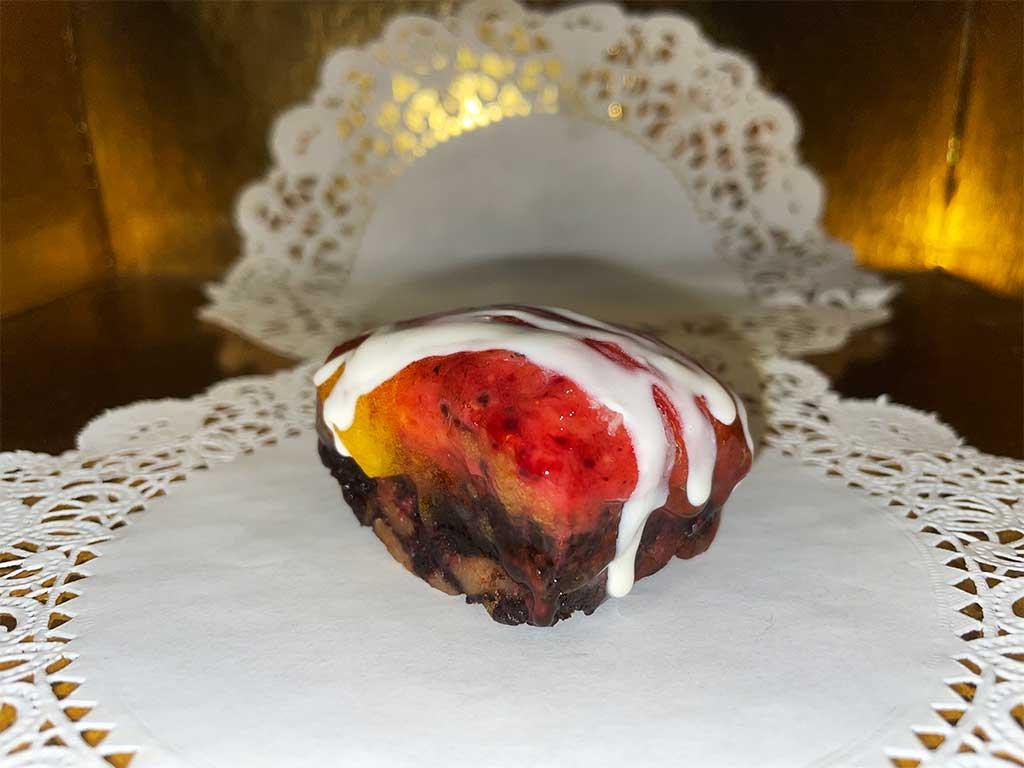Red Velvet Cheesecake Brownie - dessertsbygerard.com