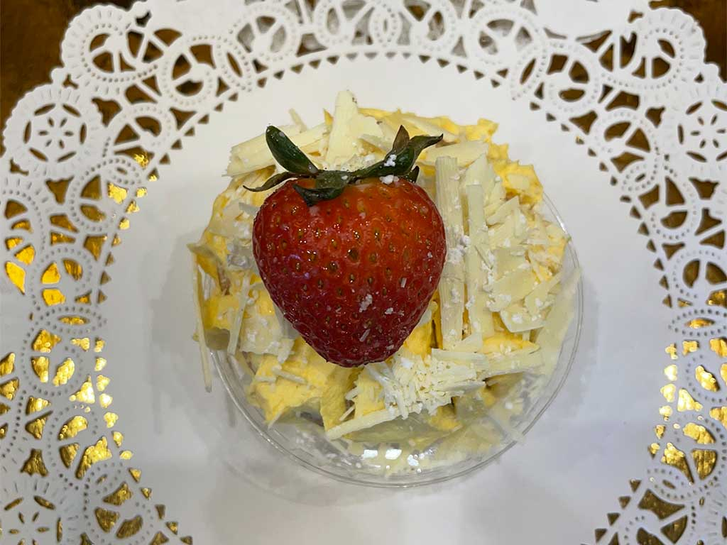 Vanilla Cupcake with Grand Mariner Buttercream- dessertsbygerard.comF